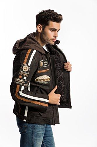 Chaqueta Moto Hombre en Cuero Urban Leather