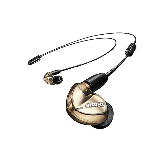 Shure SE535-V+BT1 Wireless Sound Isolating Earphones with Bluetooth Enabled Communication Cable