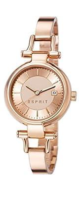 Esprit Zoe - Reloj de cuarzo para mujer, con correa de acero inoxidable, 28 mm de Esprit