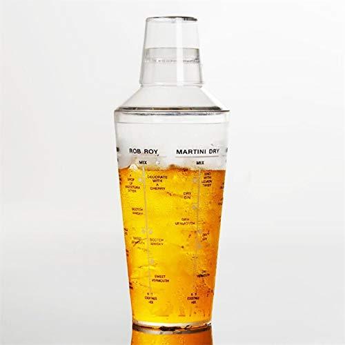 700ml Plastic Cocktail Boston Shaker Met Meting Drink Martini Mixer Barman Fles Wijn Bier KTV Party Bar Gereedschap