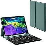 Gndy Étui à clavier pour iPad Pro 9,7 pouces - Clavier à pavé tactile - Bluetooth - Fin - Folio...