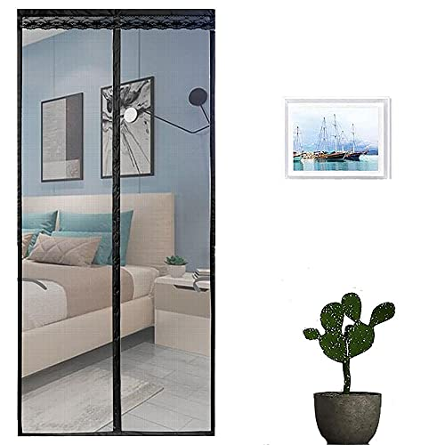 Cortina Mosquitera Para Puertas,cortina Mosquitera Puerta Magnetica,adsorción Magnética Plegable Anti Mosquito Insecto...