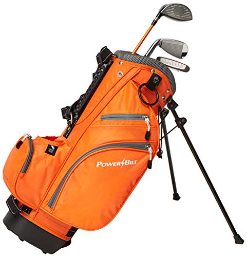 Powerbilt Golf Junior 6 Piece Set with Bag (Ages 3-5)