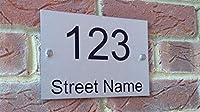 TTCI-RR 家屋番号 つや消しアルミニウム複合ハウスナンバードア・サインハウスプラークドア数やストリート名エクステリアハウス番号を登録 部屋番号