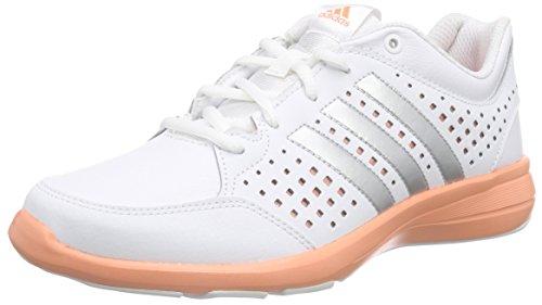 adidas Arianna III, Zapatillas de Running Mujer, Blanco/Gris/Rojo (Blanco/Plamet/Brisol), 41 1/3