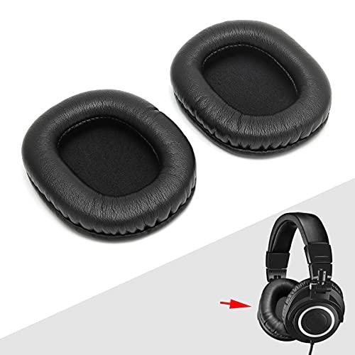 Silencioso Comfort 15 Almohadillas de Repuesto para los oídos, Almohadillas de Repuesto para Almohadillas Flexibles para los oídos PU y Esponja Mejora del Rendimiento DE Graves para