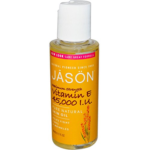 Jason Natural Vitamin E Skin Oil, 45,000 IU Maximum Strength, 59ml