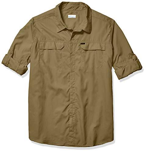 Columbia Men's Silver Ridge 2.0 Long Sleeve Shirt, Uv Sun Protection, Sage, X-Large