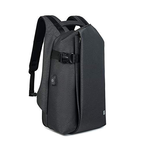 Mens Travel Backpack, 15.6' Laptop Backpack with USB Charging Port for Business Travel,...