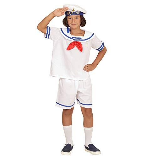 Widmann 03108 ? Enfants Costume Retro Sailor, Haut, Short et Chapeau