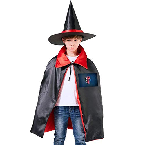 American Coors Light Logo Unisex Kids Hooded Cloak Cape Halloween Party Decoration Role Cosplay Costumes Outwear Red