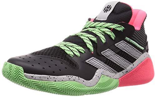 adidas Harden Stepback, Zapatillas Unisex Adulto, NEGBÁS/Gridos/MENGLO, 44 EU