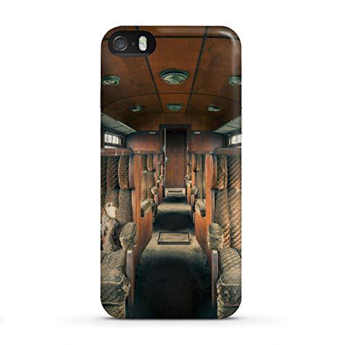artboxONE Premium-Case Handyhülle für Apple iPhone SE Holzklasse von Michael Schwan