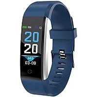 """Denver Pulsera deportiva BFH-16 AZUL. Fitnessband con monitor de frecuencia cardíaca y seguimiento de actividad física. Pantalla a color. IP67, TFT, 2,44 cm (0.96"""")"""