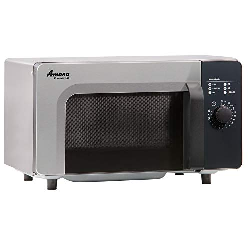 Amana RMS10D Commercial Microwave Oven, 1000 Watts, Low Volume, Sta
