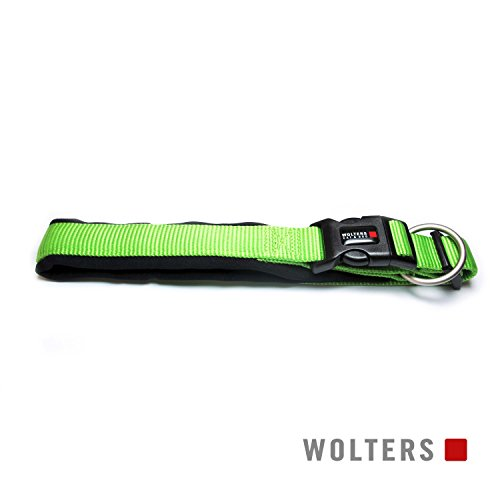 Wolters | Halsband Professional Comfort in Kiwi/Schwarz | Halsumfang 45 - 50 cm