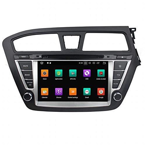 WHL.HH para I20 2014-2017 Androide 10 Auto Radio GPS Navegación DVD Multimedia Jugador Cabeza Unidad HD Tocar Pantalla Apoyo SWC Bluetooth Auto Estéreo Video Receptor