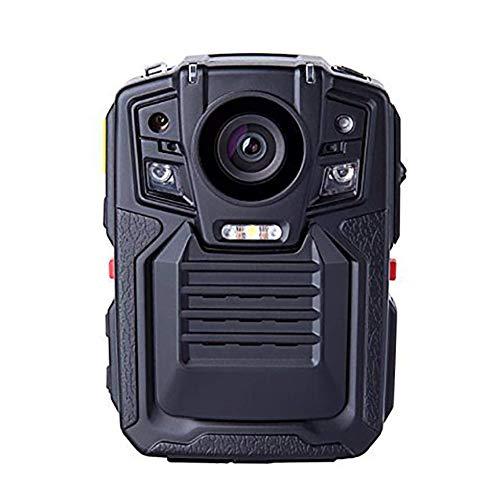 Fbestbody Visión Nocturna por Infrarrojos HD 1080P Cuerpo De Cámara De Vídeo Gastada Seguridad Cámara IR Incorporada Soporte De GPS Detección De Movimiento,con Tarjeta De Memoria 32G, Modelo DB-09
