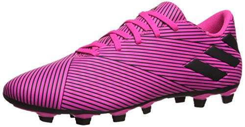 adidas Herren Nemeziz 19.4 Firm Ground Fußballschuh, Pink (Shock Pink/Black/Shock Pink), 43 EU