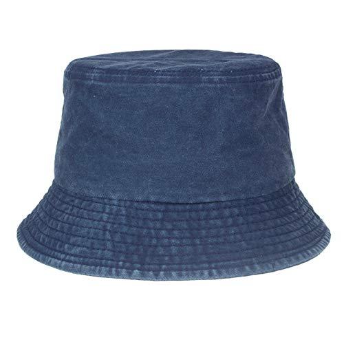 leigedzi Unisex Anti-Ultravioleta Sun Hat Dome Sombra Transpirable Color Sólido Sombrero De Pescador
