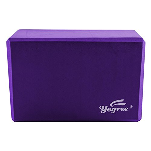 yogree Yoga Blocks, 9'x6'x4' - High Density EVA Foam Brick Provides Stability Balance & Support,...