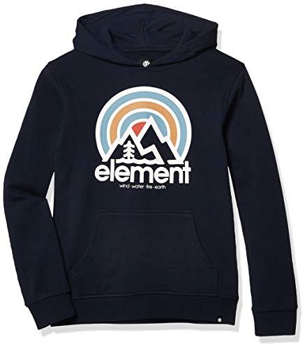Element Boys 8-20 Jungen Sonata Hooded Pullover Boy Kapuzenpulli, Eclipse Navy, Medium
