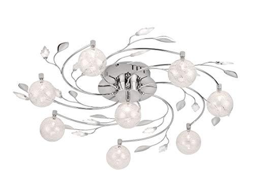 Paul Neuhaus, hanglamp, 8 x G4 / 14W, chroom