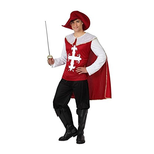 Atosa - 16447 - Costume - Déguisement Mousquetaire Adulte - Taille 2