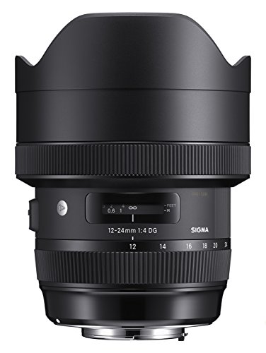 Sigma 12-24mm f/4 DG HSM Art Lens for Nikon F (205955)