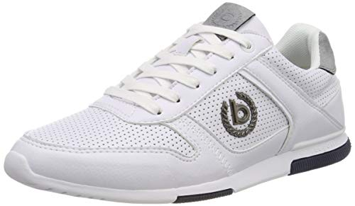 bugatti Herren 321732015900 Sneaker, Weiß, 45 EU