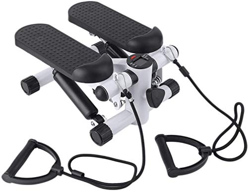 WUIIEN Aerobic Step Fitness Air Stair Climber Stepper Exercise Machine Equipment Silver