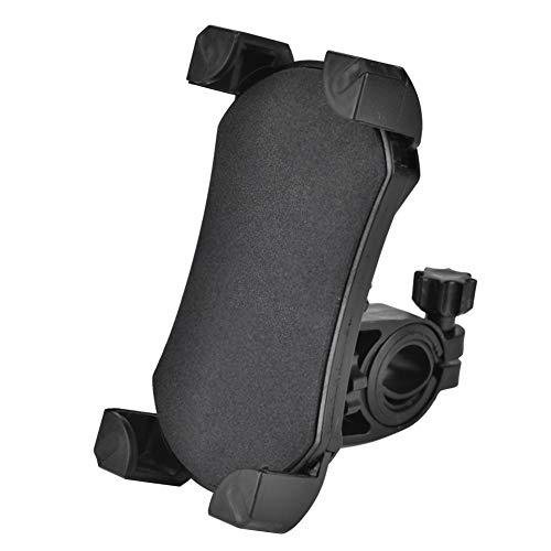 Yagosodee 3 5-6 - Soporte de montaje GPS para teléfono móvil de 5 pulgadas para manillar de bicicleta de moto, color negro
