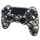 Jnsio Mando para PS4 Inalambricos, Mando para PS4 con Gyro de 6 Ejes y Conector de Audio inalambrico Mando Vibración Doble/Panel Multitáctil