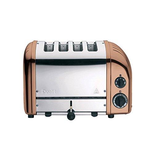 Dualit Classic NewGen Vario 4 Toaster, kupfer poliert handgefertigt