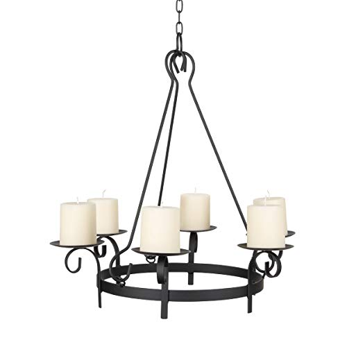 Illuminate Your Gazebo with This Wrought Iron Hanging Gazebo...