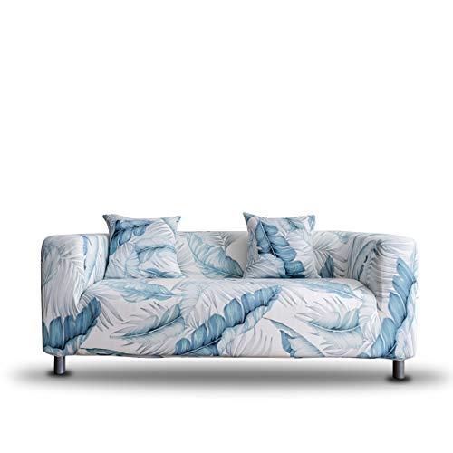 ENZER Copridivano Elasticizzato 1/2/3/4 posti Universale Antiscivolo Sofa Divano di Protezione Floreale Completamente Avvolto Fodera per Divano