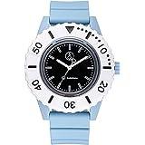 [シチズン Q&Q] 腕時計 アナログ スマイルソーラー ダイバーズ 防水 ウレタンベルト RP30-005 メンズ ブルー