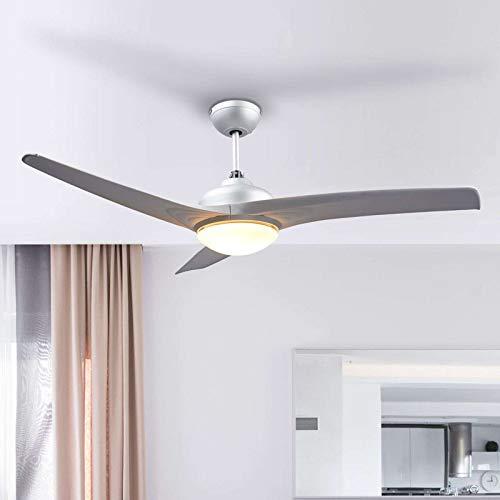 Lindby Deckenventilator mit Beleuchtung und Fernbedienung leise | 2-in-1: Ventilator & Lampe | Durchmesser: 132 cm | 3 Geschwindigkeitsstufen | Sommer- & Winterbetrieb