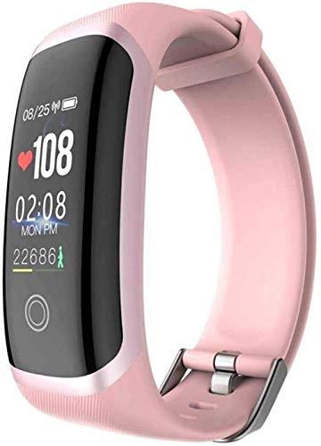 Reloj inteligente 0.96In impermeable IP67 presión arterial inteligente pulsera Bluetooth puede llamar recordatorio Deportes Smartwatch Android iOS versión