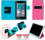 Hülle für HP Slate 7 Tasche Cover Hülle Bumper | in Pink | Testsieger