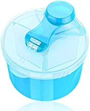 Majoxin Portable Baby Kids Food Containers Storage Feeding Box Milk Powder Formula Dispenser