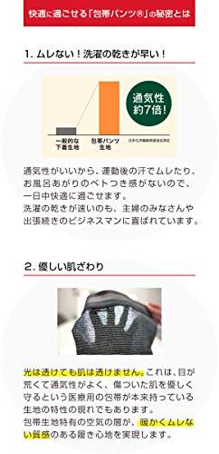 SIDO(シドー)『包帯パンツノンヘムショートボクサーシリーズ』