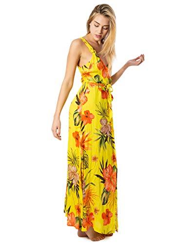 Desigual Vest CORCEGA - Vestido para mujer amarillo M