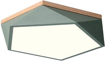 Moderna LED Lampada da soffitto Fiore Design Illuminazione Legno ...
