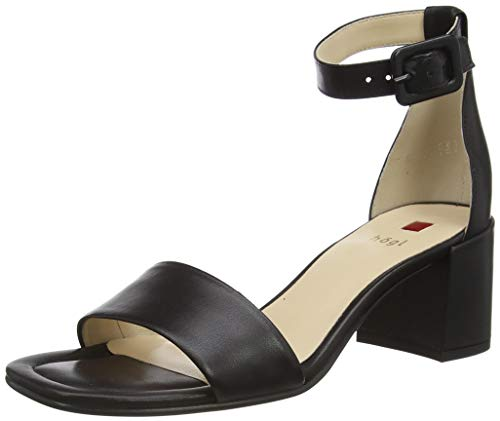 Högl Damen INNOCENT Sandale mit Absatz, Schwarz, 40 EU
