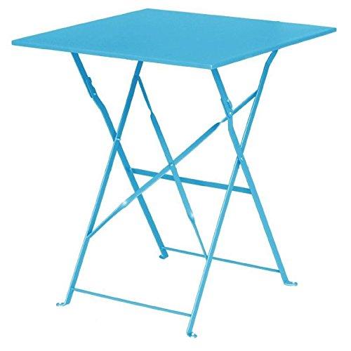 Bolero mesa, pavimento estilo de acero gk985, Mar Azul