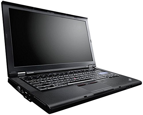 Lenovo ThinkPad T410 14 Zoll 1280x800 HD Intel Core i5 320GB Festplatte 4GB Speicher Win 10 Pro MAR DVD Brenner Tastaturbeleuchtung Notebook Laptop (Zertifiziert und Generalüberholt)