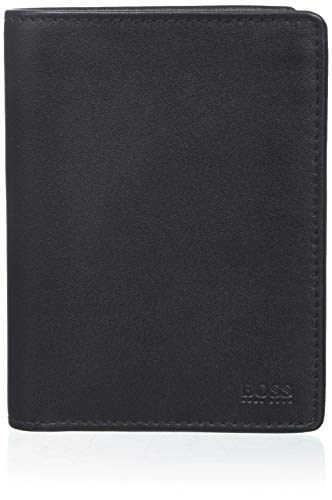 BOSS Herren Majestic S_8 Cc Flap Geldbörse, Schwarz (Black), 2.5x12.5x9.5 cm