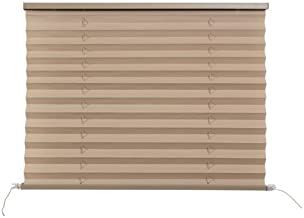 "Appizz) New RV Camper Pleated Blind Shades Cappuccino 74"" x 42"" (1 pack)"