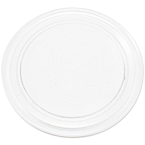 "Replacement for Rival RGTM701 Microwave Glass Plate - Compatible with Rival 3390W1A035 Microwave Glass Turntable Tray - 9 5/8"" (245 mm) - Also for Oster OGG3701 OGYU701 OGT6701 OM0701N8E OGYW0701"